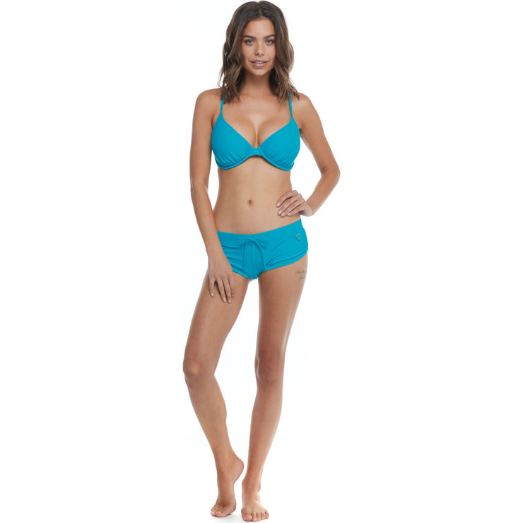 Smoothies Solo D-F Cup Swim Top - Dahlia