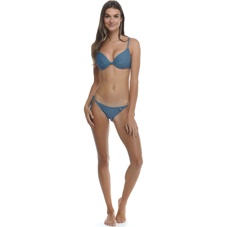 Smoothies Greta Underwire Bikini Top - Borealis