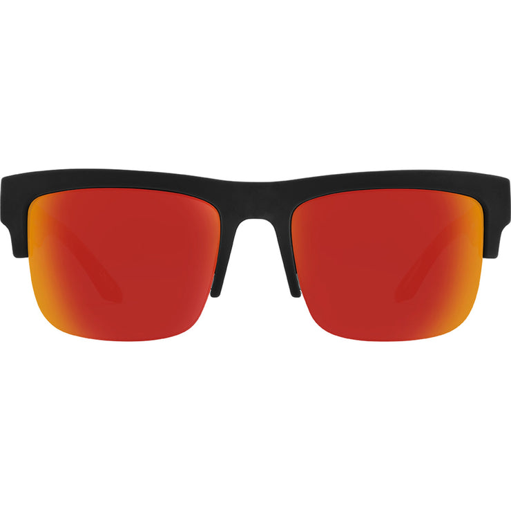 Discord 5050 Soft Matte Black Translucent Orange - HD Plus Gray Green with Orange Spectra Mirror