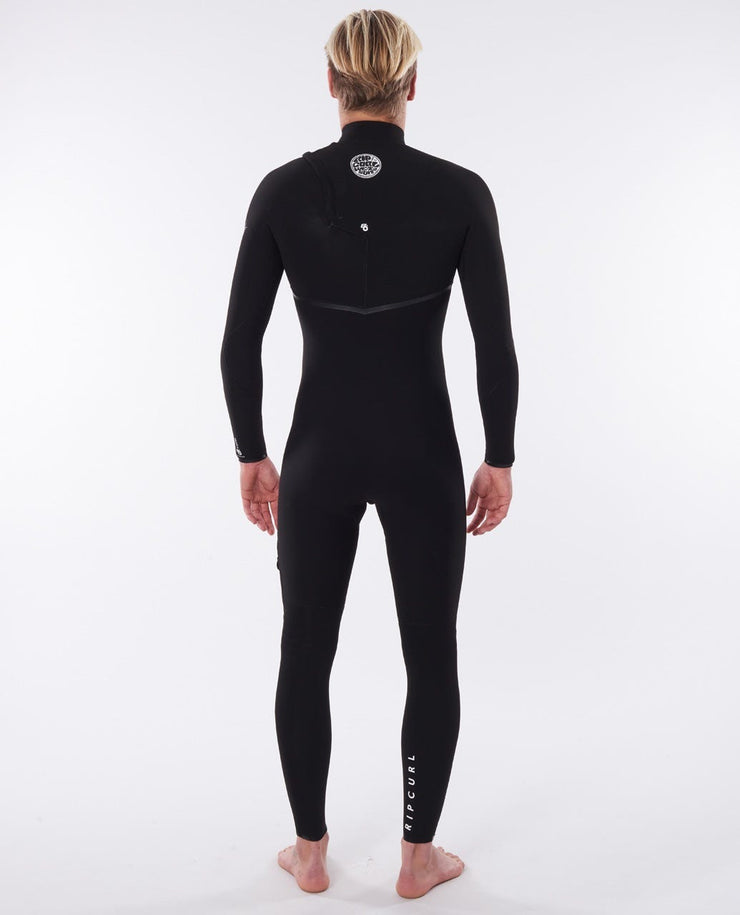 RIP CURL E-BOMB 4/3  CHEST ZIP WETSUIT WSMYGE