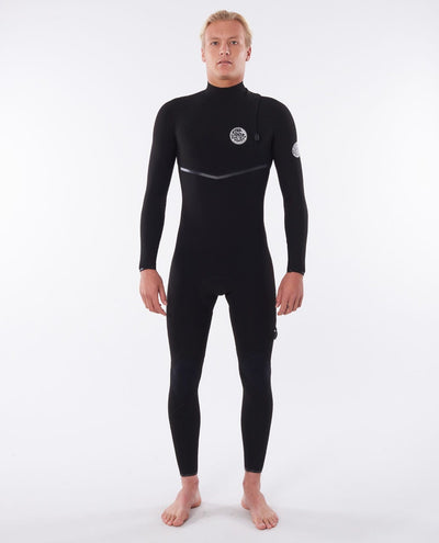 RIP CURL E-BOMB 3/2 GB CHEST ZIP WETSUIT WSMYHE