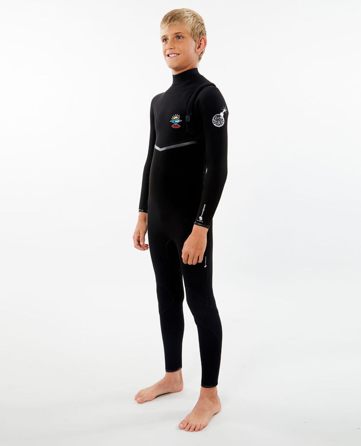 RIP CURL JUNIOR FLASHBOMB 3/2 ZIP FREE WSMYIB