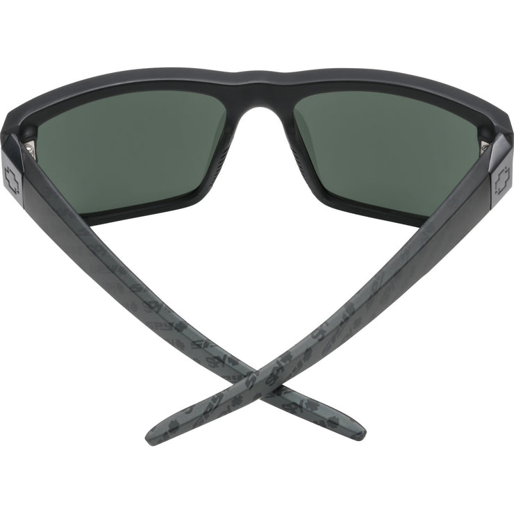 Dirty Mo 2 Matte Black Logo Fade-HD Plus Gray Green with Silver Spectra Mirror