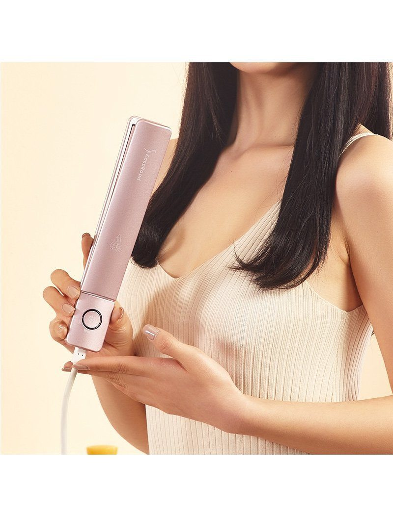 Load image into Gallery viewer, Luxury Flat Iron Hair Straightener