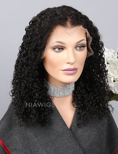[Wig 5.0] Curly Human Hair Upgraded Lace Front Wigs