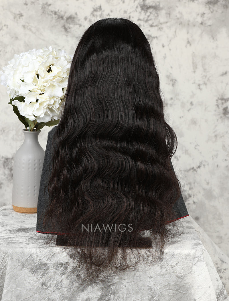 Load image into Gallery viewer, Silk Base Body Wave Human Hair Lace Front Wigs