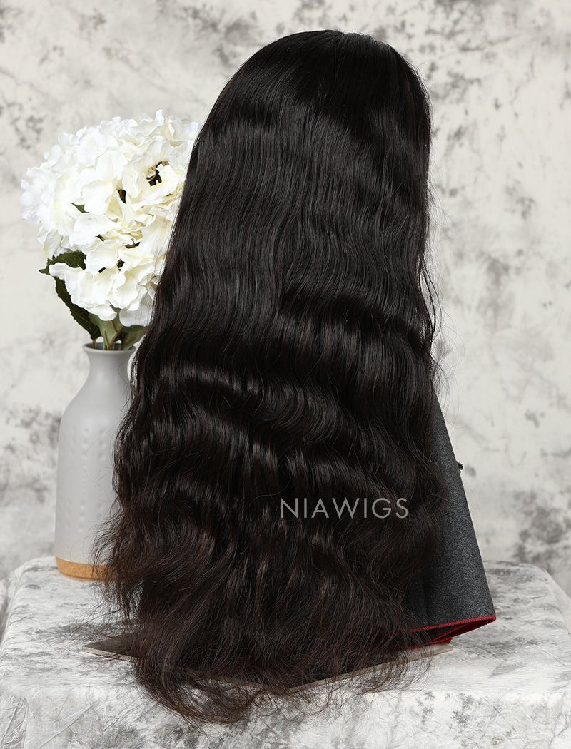 Load image into Gallery viewer, Body Wave Stock Wig Natural Color Human Hair Machine Made Wigs