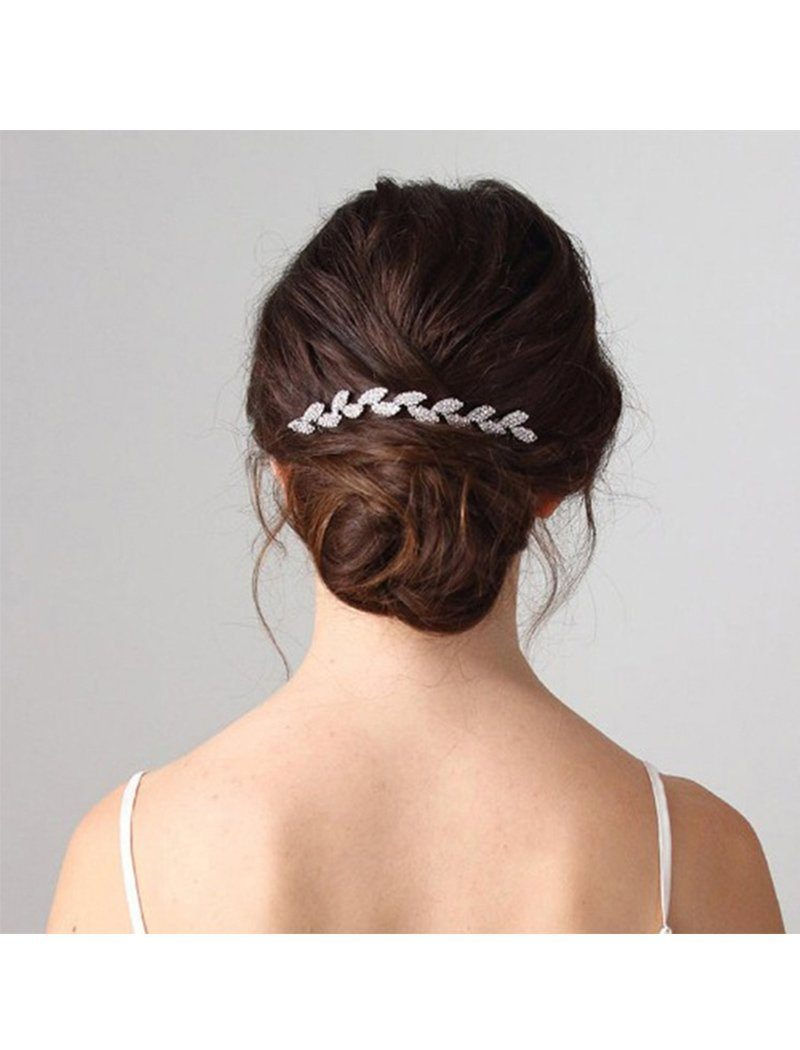 Load image into Gallery viewer, Retro Crystal Wedding Accessories Bridal Metal Hair Comb