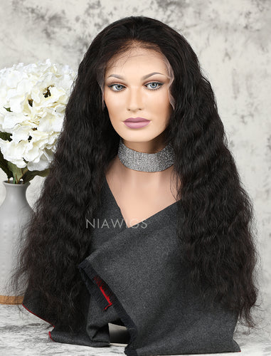 [Wig 5.0] Water Wave Human Hair Upgraded Lace Front Wigs