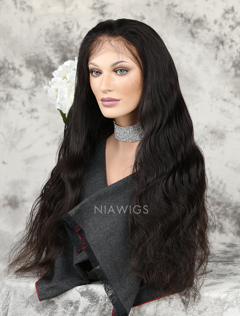 Load image into Gallery viewer, Silk Base Body Wave Human Hair Full Lace Wigs