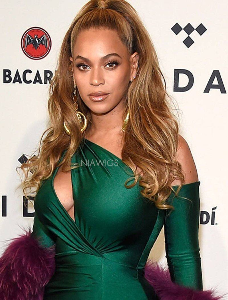 Load image into Gallery viewer, Beyonce Inspired Virgin Hair Lace Wig Balayage Celebrity Wigs