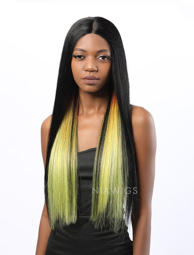 Shanice||Remy Hair 20 Inches Lace Front Wig Balayage