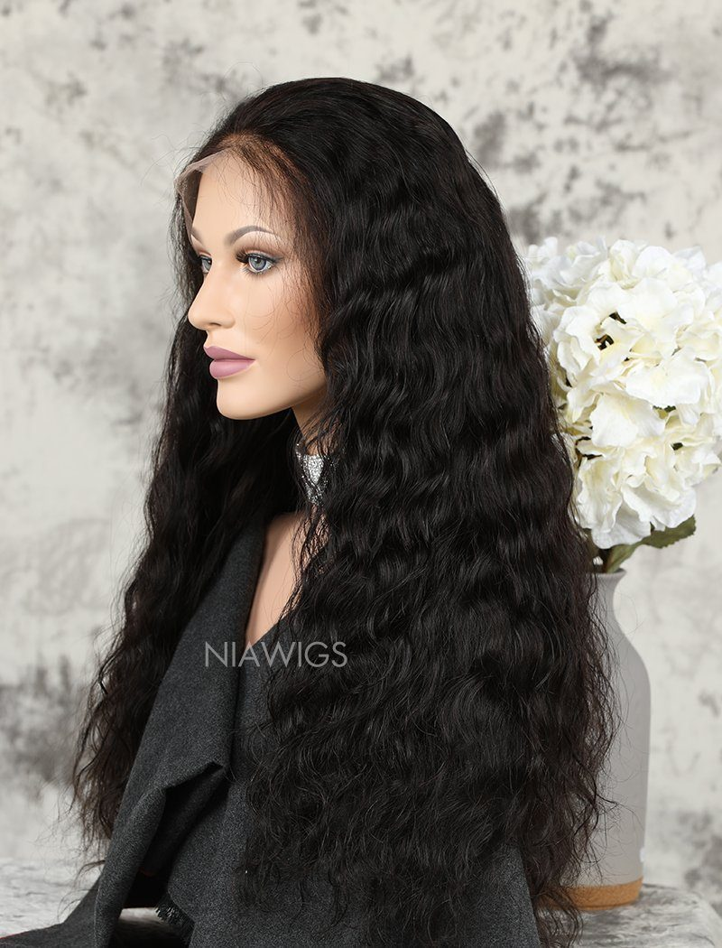 Load image into Gallery viewer, [Wig 5.0] Natural Wavy Human Hair Upgraded Lace Front Wigs