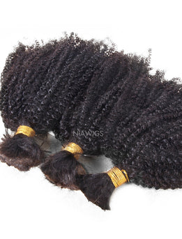 Bulk Human Hair for Braiding Kinky Curly Brazilian Hair