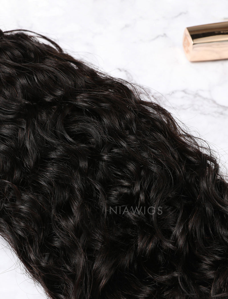 Load image into Gallery viewer, Hair Weft Bundles Natural Color Brazilian Natural Curly Human Hair