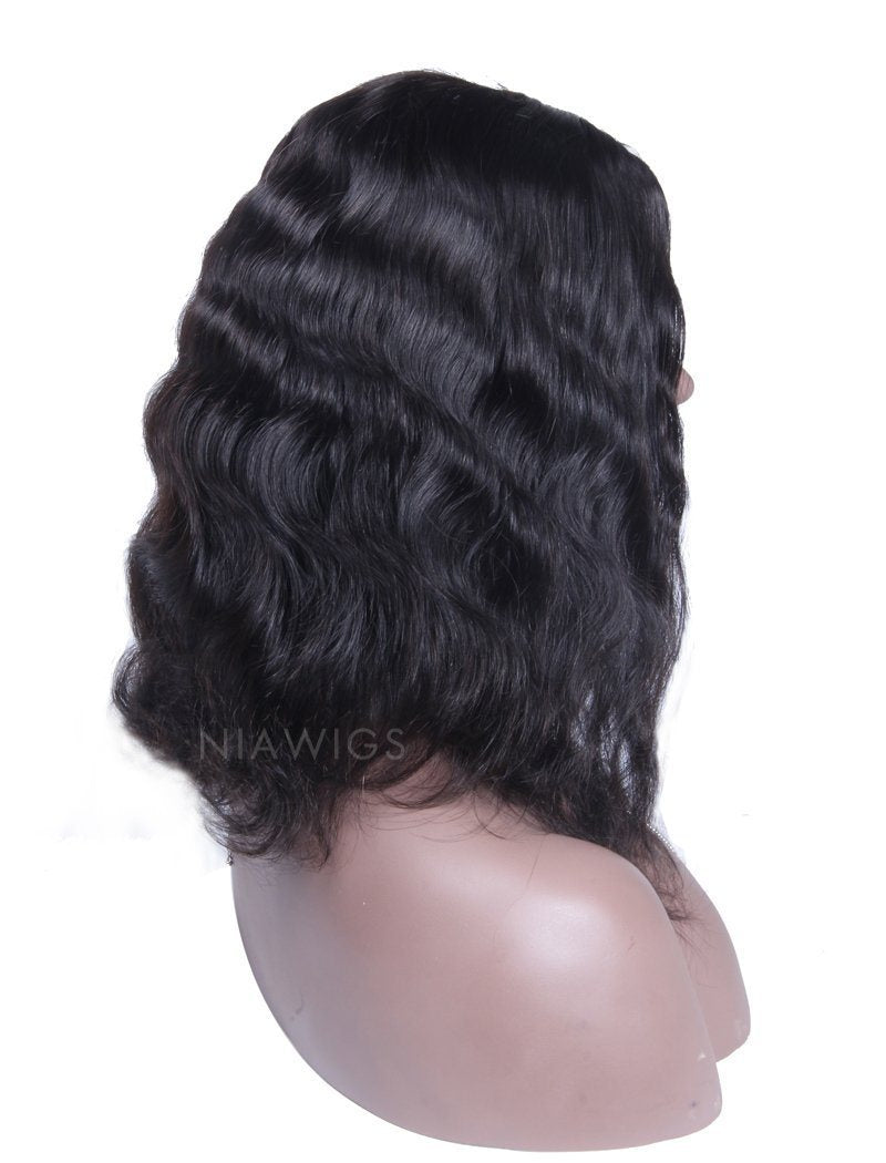 Load image into Gallery viewer, Body Wave U Part Human Hair Wig Middle Parting Upart Wigs
