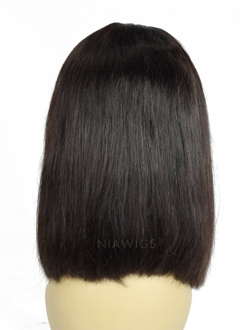 Load image into Gallery viewer, Short Bob Human Hair U Part Wig Bob Uparting Wigs
