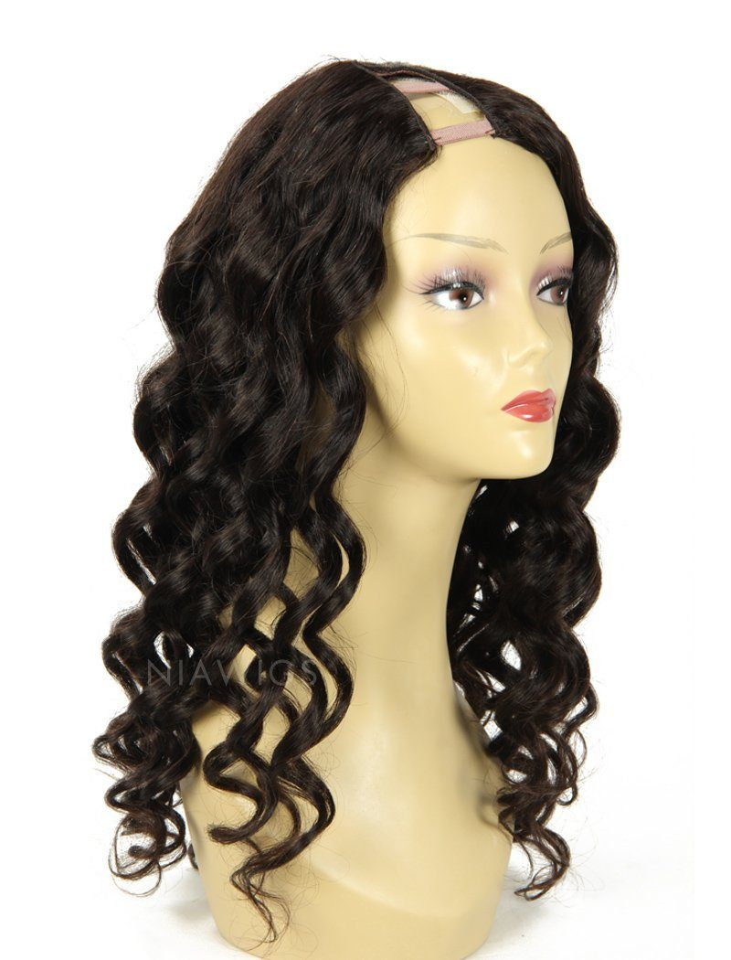 Load image into Gallery viewer, 2020 New Arrival Loose Wavy U Part Human Hair Wigs