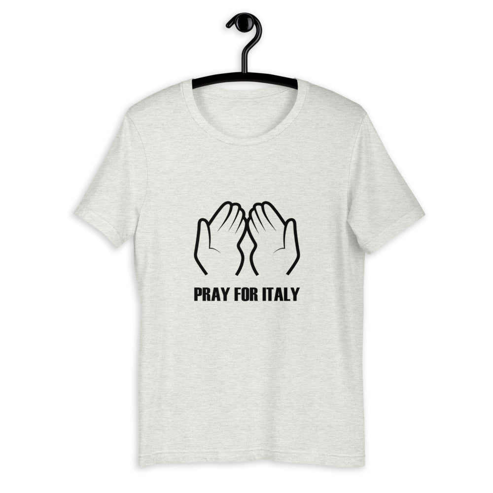 Pray For Italy Corona Virus T-Shirt