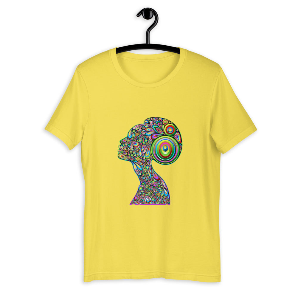 Woman Psychedelic Portrait Cool Tshirt