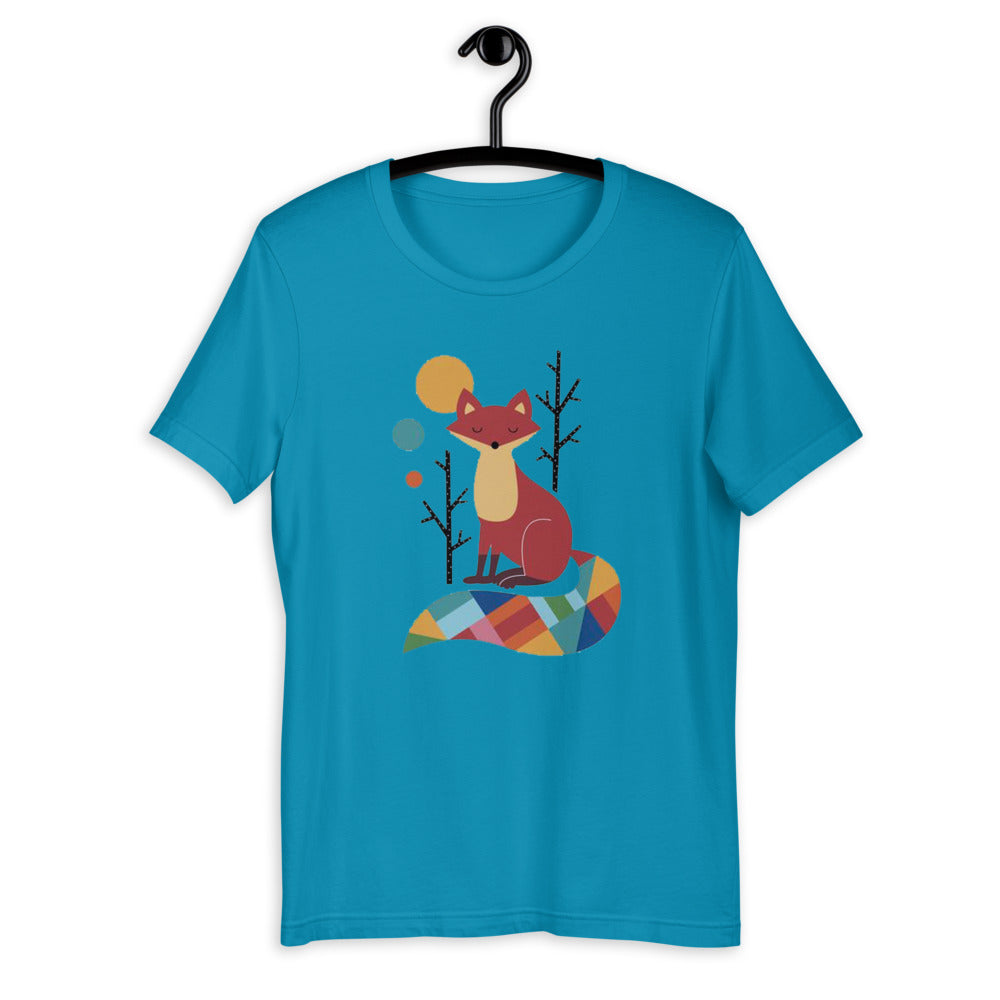 Rainbow Fox T-Shirt