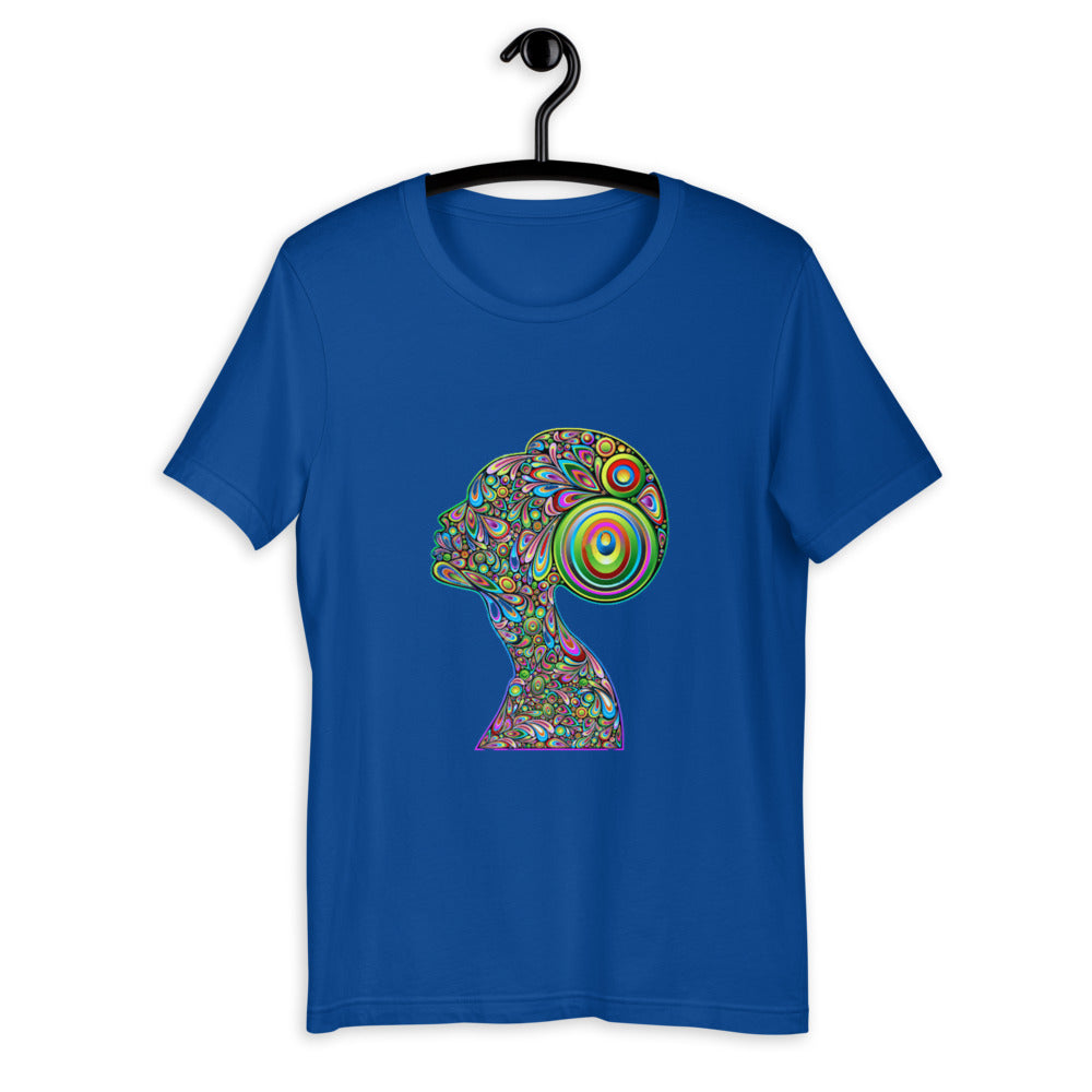 Woman Psychedelic Portrait Cool T-shirt