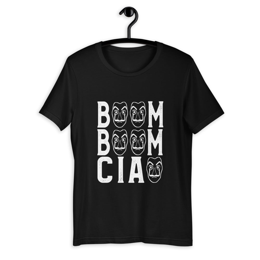 "Boom boom ciao shirt for ""La Casa De Papel"" fans"