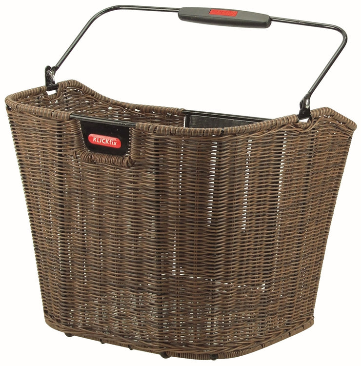 Rixen & Kaul Structura EF Front Basket - Brown