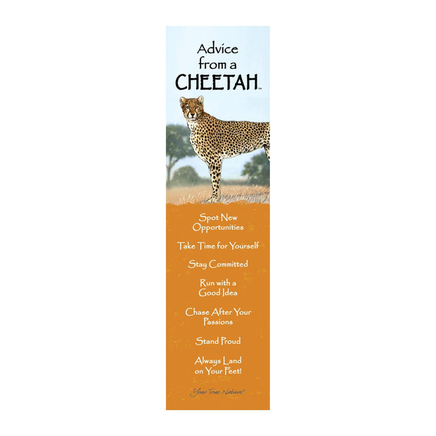 Classic Cheetah Laminated Bookmark