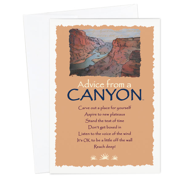 Classic Canyon Greeting Card