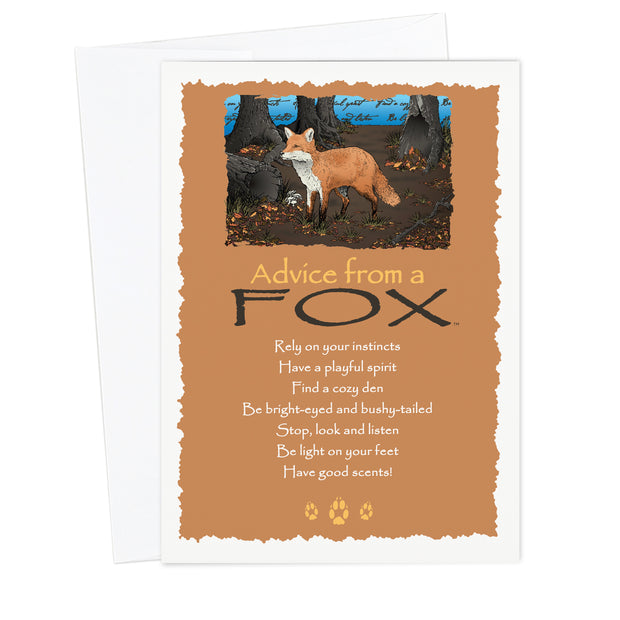 Classic Fox Greeting Card