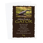Classic Gator Greeting Card
