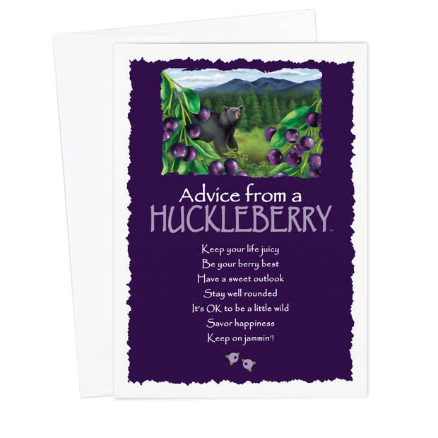 Classic Huckleberry Greeting Card