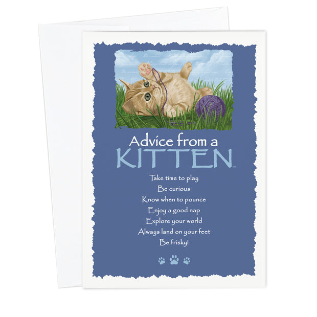 Classic Kitten Greeting Card