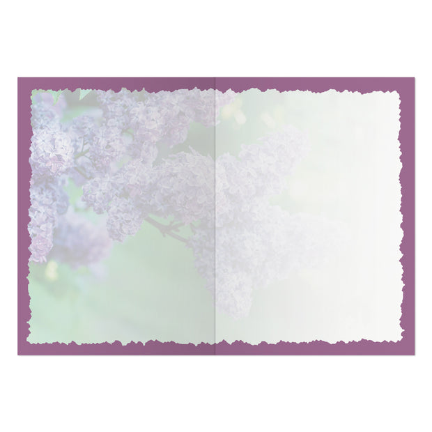 Classic Lilac Greeting Card