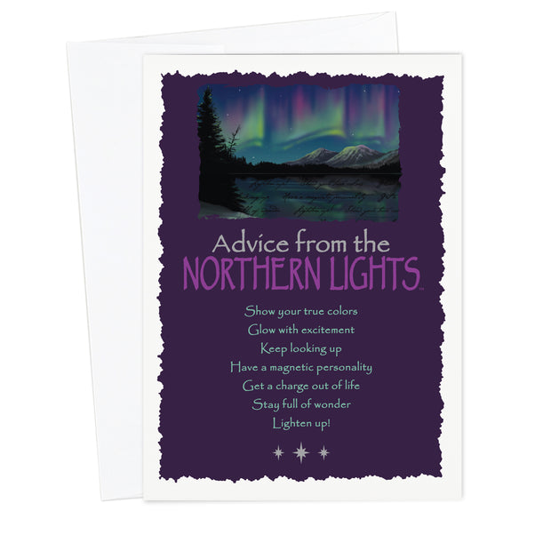 Classic Northern Lights Greeting Card