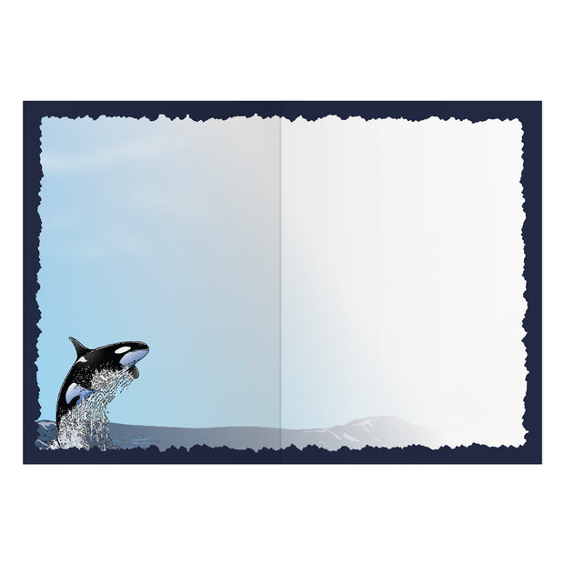Classic Orca Greeting Card