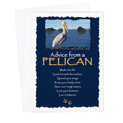 Classic Pelican Greeting Card