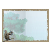 Classic Squirrel Greeting Card