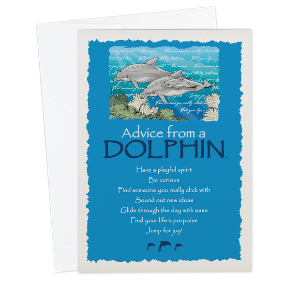 Classic Dolphin Greeting Card