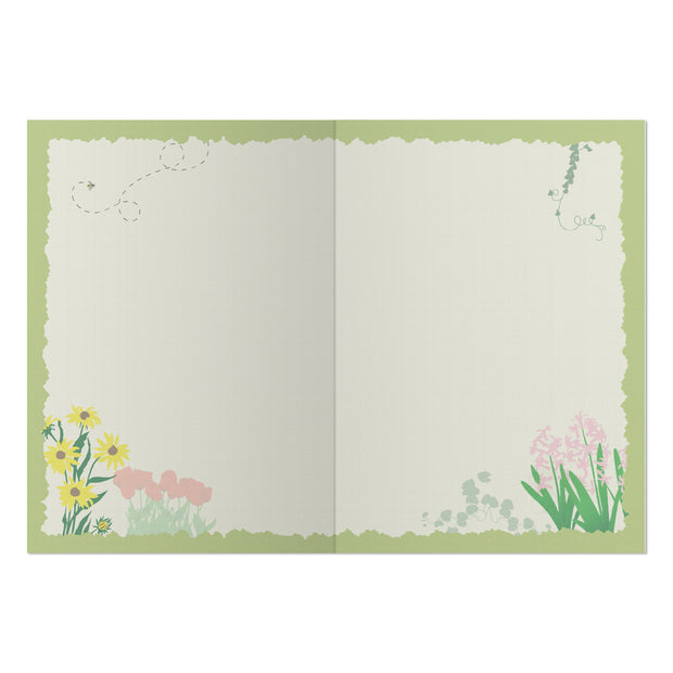 Classic Garden Greeting Card
