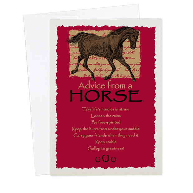 Classic Horse Greeting Card
