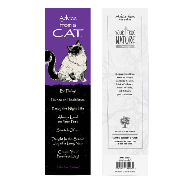 Classic Cat Laminated Bookmark