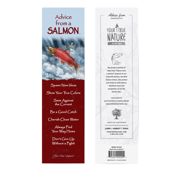 Classic Salmon Laminated Bookmark