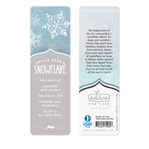 Snowflake Paper Bookmark