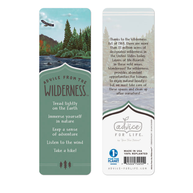 Wilderness Paper Bookmark