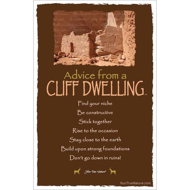Classic Cliff Dwelling Frameable Art Card