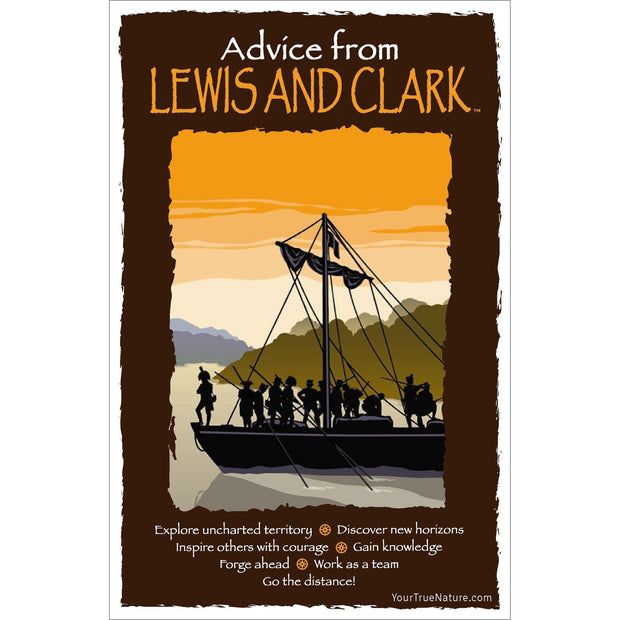 Classic Lewis and Clark Frameable Art Card