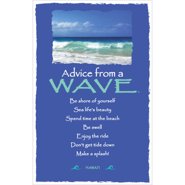 Classic Wave- Hawai'i- Frameable Art Card