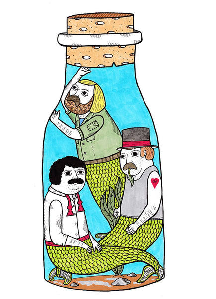 "Michael Hsiung - ""On the crowded nature of interim bottles used for mermen in captivity."""